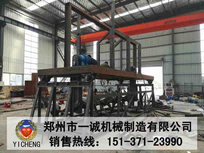 高效率提升式槽式翻堆机生产现场