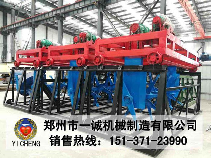 猪粪处理设备_易胜博注册翻堆机批量生产现场
