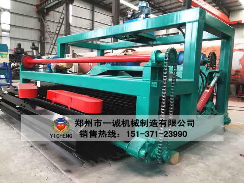 郑州易胜博ysb248网址3米链板翻堆机生产现场