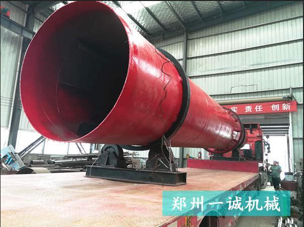 郑州易胜博ysb248网址12米污泥烘干机发往河北卢龙县