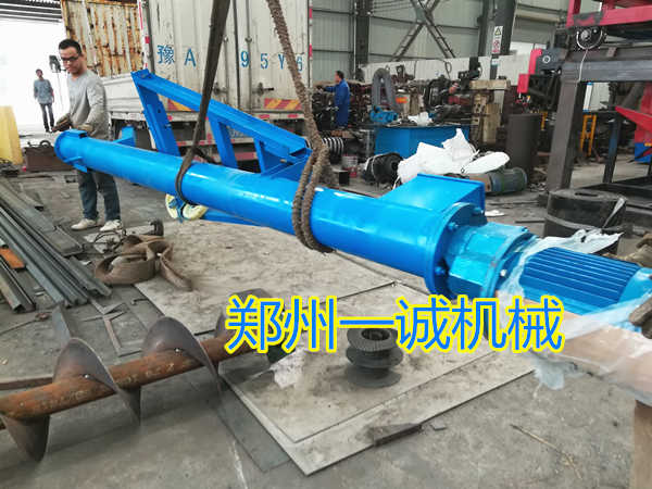 易胜博注册螺旋输送机设备发往陕西汉中