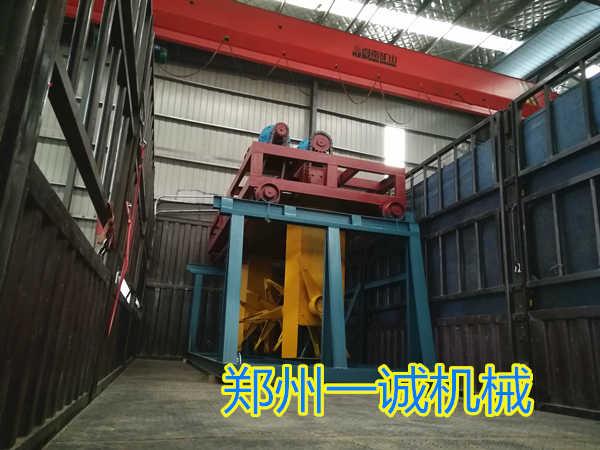 3米易胜博注册槽式翻抛机装车发往陕西
